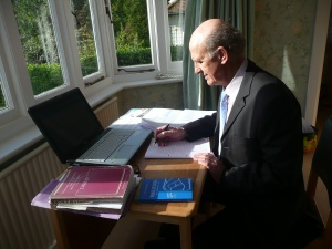 preparing report for solicitor